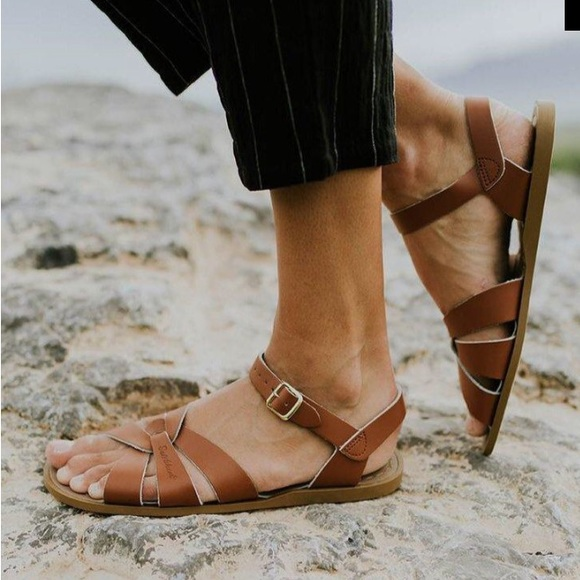 Salt Water Sandals Brown Womens